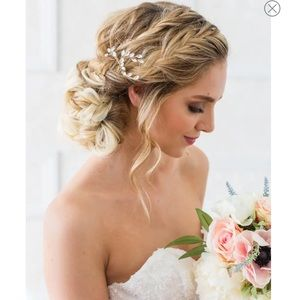brides&hairpins Nicolette Crystal Hair Comb